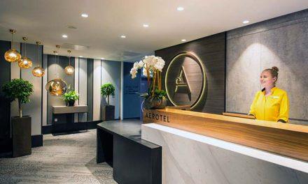 Új terminál szálloda nyílt Londonban
